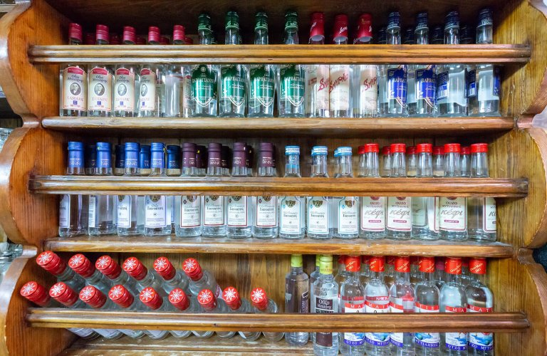 All the ouzo options
