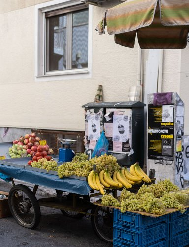 fruit cart exarchia