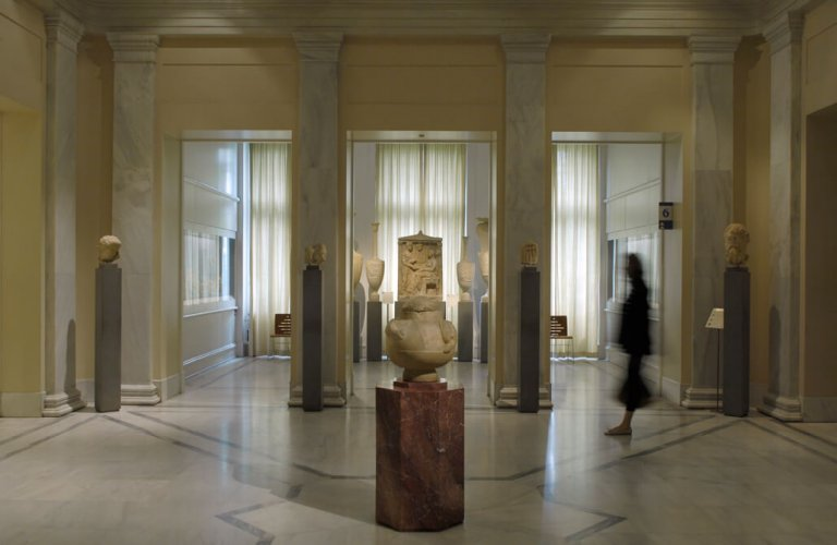 Main building: ancient Greek gallery. | Courtesy: The Benaki Museum of Greek Culture