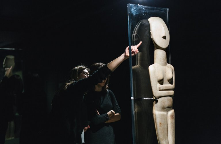 Cycladic Society: 5000 years ago (2016-2017). | Courtesy: Cycladic Museum