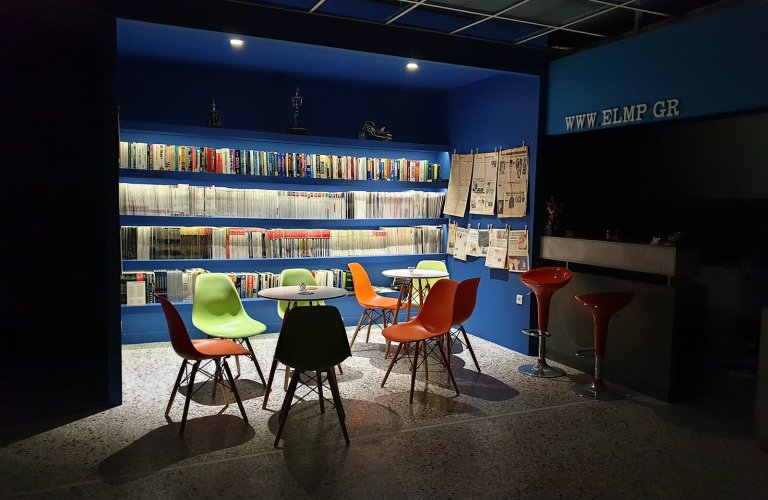 The museum's library has over 1500 books and magazines, many of which are in English. | Courtesy: Hellenic IT Museum