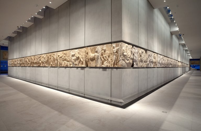 Courtoisie de: The Acropolis Museum. Photo by Nikos Daniilidis.