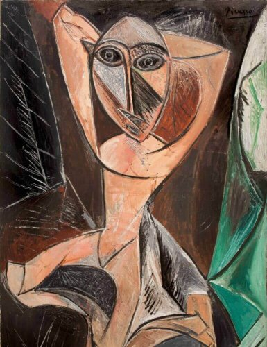 Picasso Pablo, Femme Nue aux Bras Leves at the Basil & Elise Goulandris Foundation