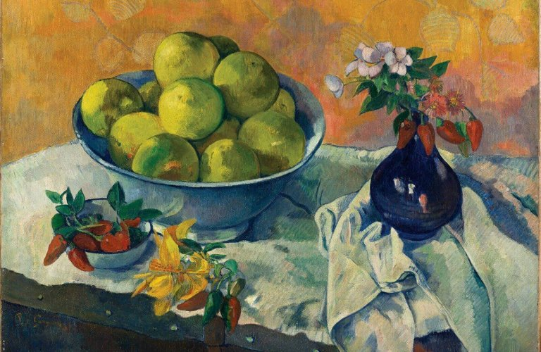 Gauguin Paul, Nature morte aux pamplemousses at the Basil & Elise Goulandris Foundation